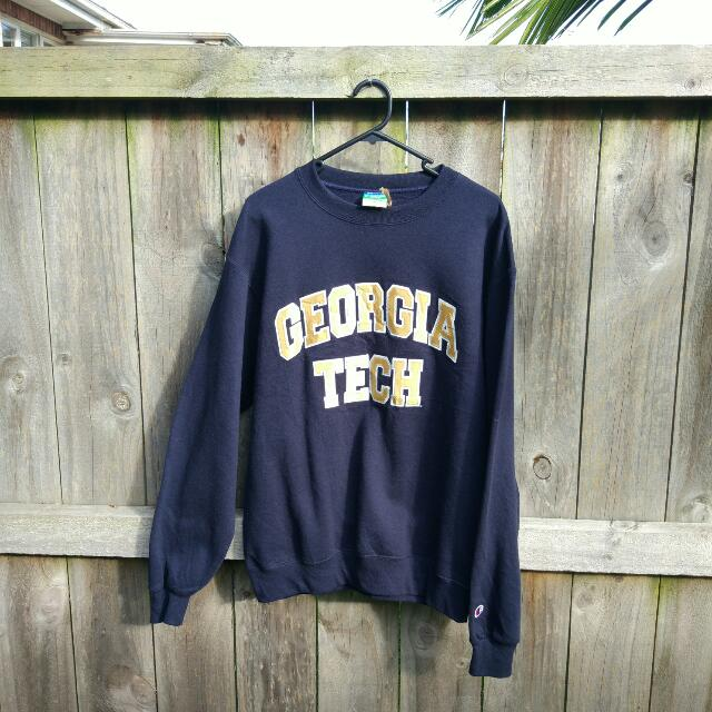 Vintage Champion Georgia Tech Sweatshirt