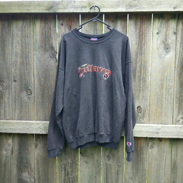 Vintage Champion Las Vegas Outlaws Crewneck Jumper