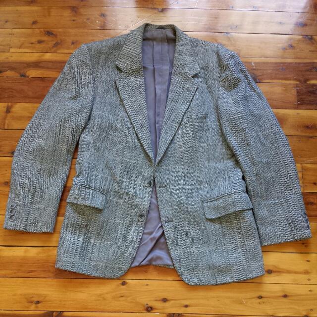 Vintage Wool Blend Jacket