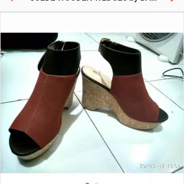 Wedges Suede by BATA