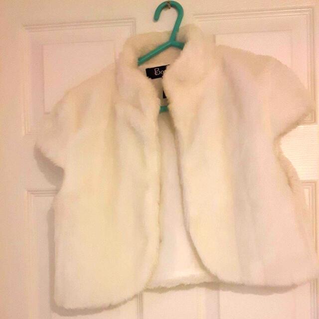 White Color shot coat