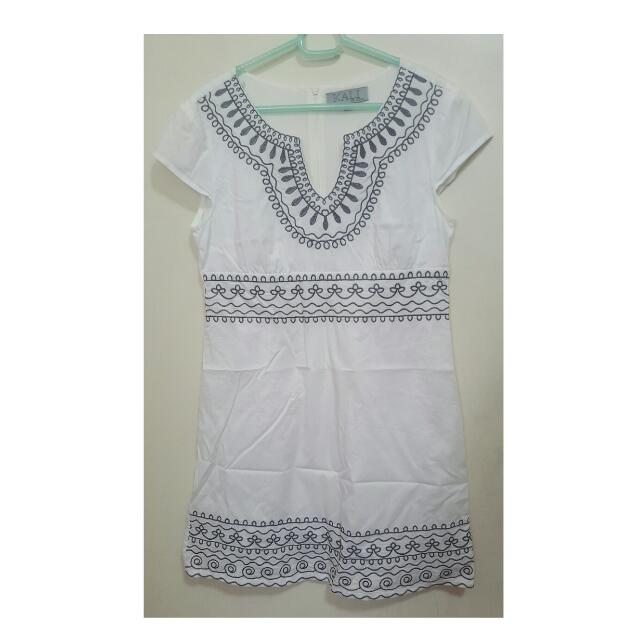 White Dress From KALI