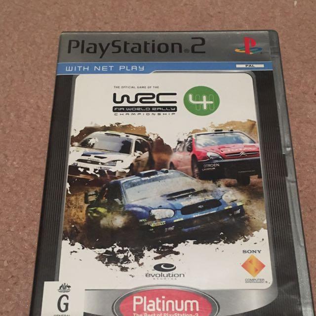 World Ralky Championship 4 - PlayStation 2