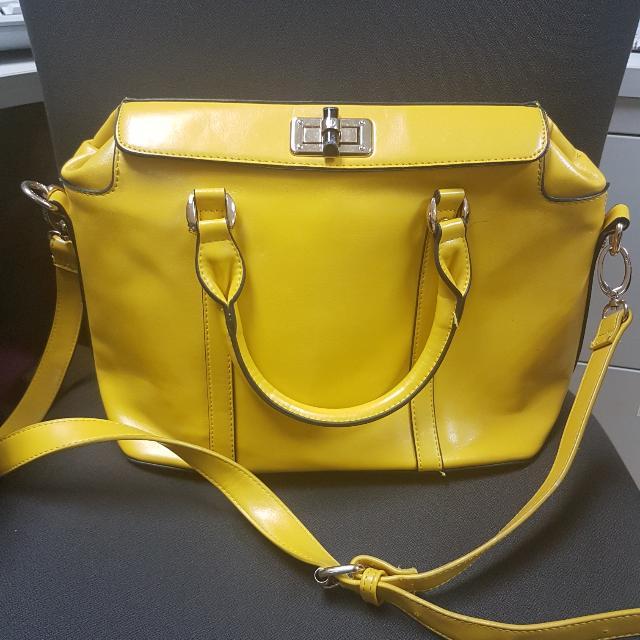 Yellow 2 Way Bag