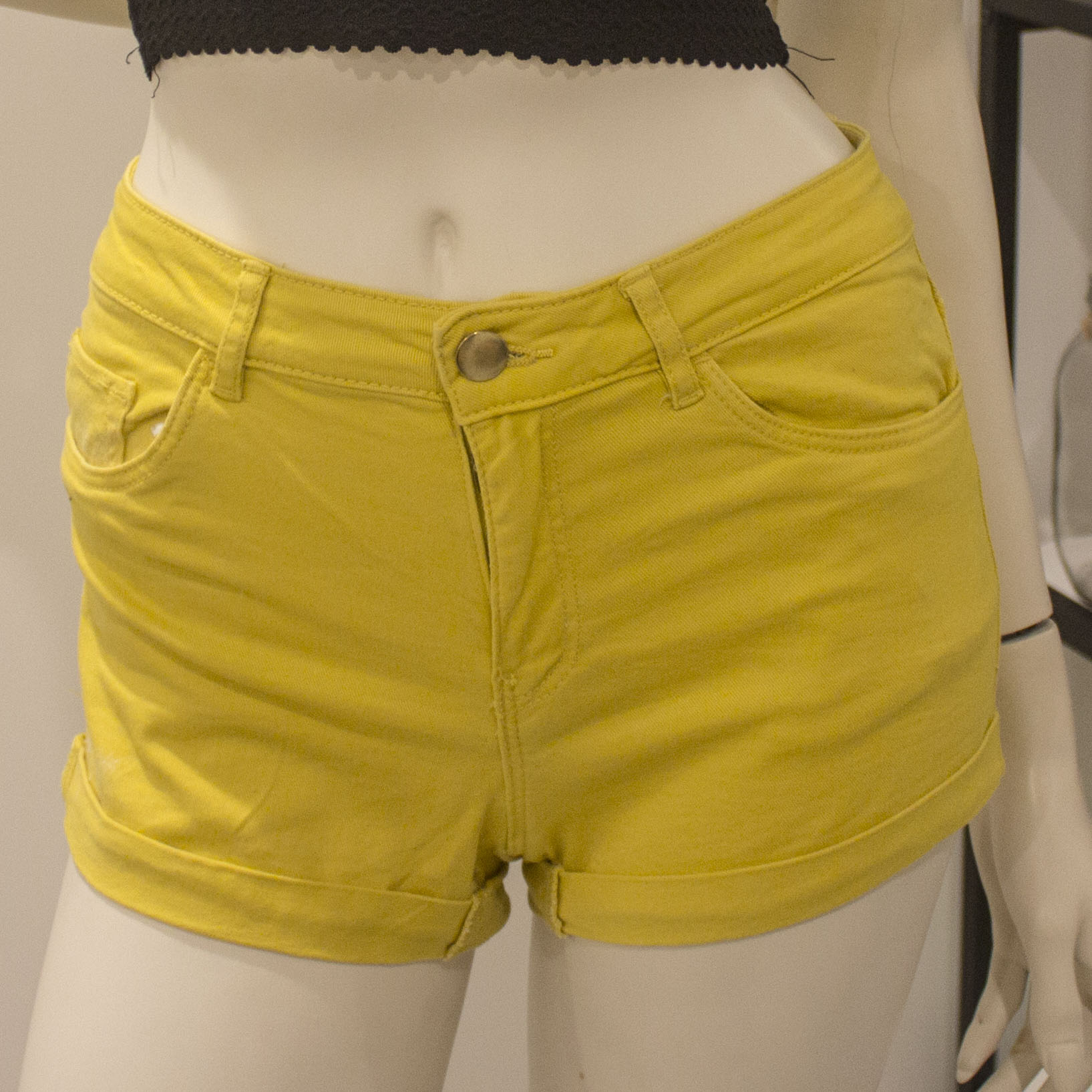 Yellow shorts Size S