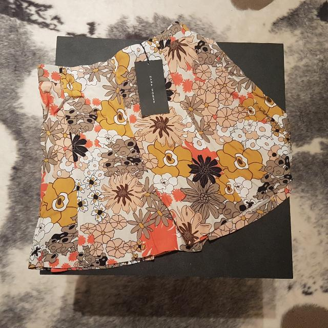 Zara New Shorts With Tags - Size Medium