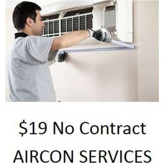 Aircon Service NoContract $19,Antibacterial deeper Steam Cleaning $30,Chemical Wash $40,CHEMICAL WASH+STEAM $50 QUICK RESPONSE,Call 93763389