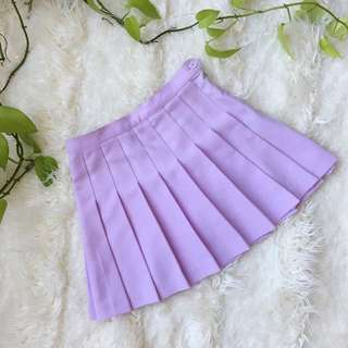 Lilac American Apparel Skirt