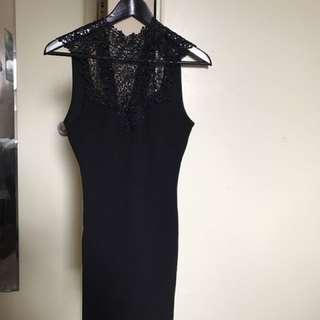 Black Gothic Forever 21 Dress