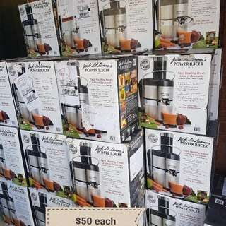 Jack La Lanne's Power Juicers Brand new