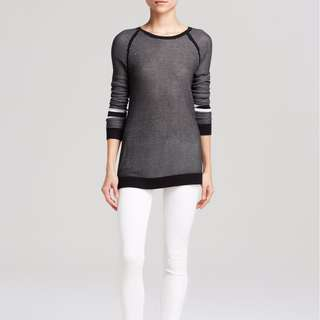 "RAG & BONE/Jean ""MARTINA"" Perforated KNIT Sweater"