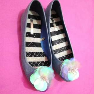 VNC Flower Flat Shoes