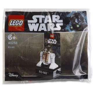 [FREE MAIL] LEGO 40268 R3-M2 POLYBAG