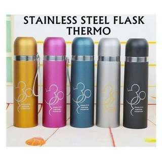 Stainless Steel Mickey Flask Thermos