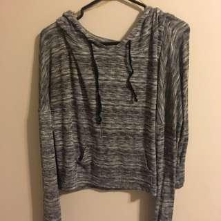 Grey Thin Sweatshirt