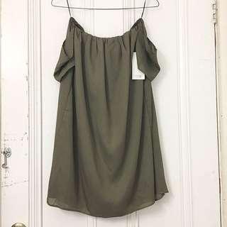 Tobi Off The Shoulder Dress