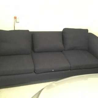 Extra Long Navy Couch