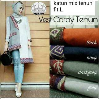 Vest cardy in