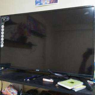"""Ace 32"""" led Tv with Tv Plus"""