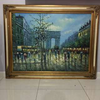 (3) Gold Framed Painting