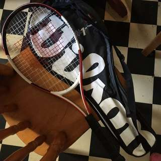 Wilson Tennis Racquet & Cover