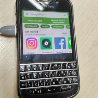 Blackberry Q10 - Playstore Installed