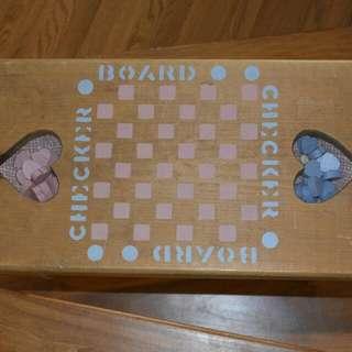 Checker Board Bench - Pick Up Don Mills