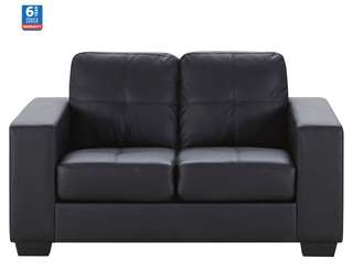 Near New - Tivoli 2 Seater Sofa (Ebony Colour)