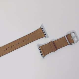 42mm Saddle Brown Leather Classic Buckle