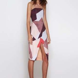 REDUCED Premonition designs Mosaic Midi Dress M