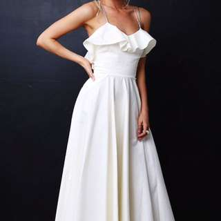 Luxe line- Love Wear & Repeat Midi dress: Ivory 8