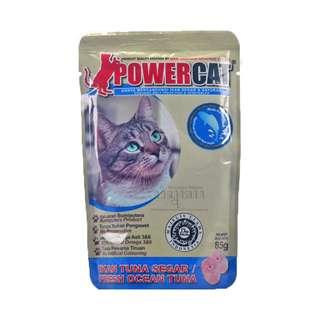 Powercat Cat Food Fresh Ocean Tuna Makanan Kucing Wisnutapa Rasa Ikan Tuna