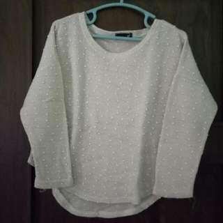 Sweater Penguin Timbul