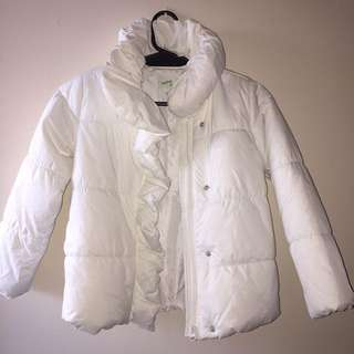 Bossini Kids White Puffer Jacket