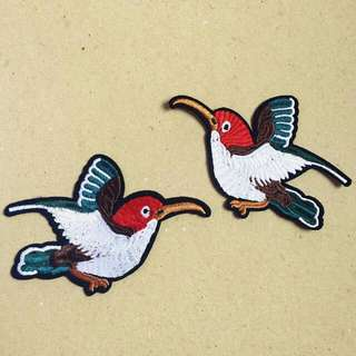 Gucci Bird In Pair Iron On Patch