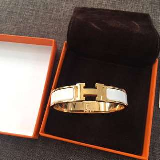 Hermes Original Bracelet Rose Gold Plated