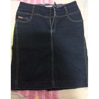 ZARA JEAN SKIRT EUR 42 US 10