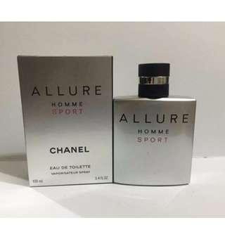 ALL YEAR ROUND SALE!! Chanel Allure Homme Sport!!