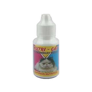 Nutri Cat Obat Bulu Rontok Vitamin Dan Penumbuh Bulu Pada Kucing Wisnutapa