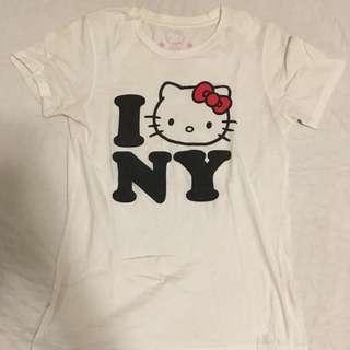 I Love NY Hello Kitty T Shirt