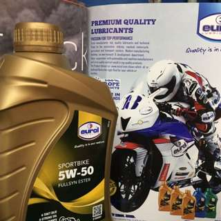 Eurol 5w50 Fullsyn Ester Engine Oil