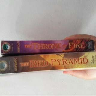 The Red Pyramid And The Throne Of Fire