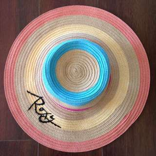 ROXY Multicoloured Straw Hat