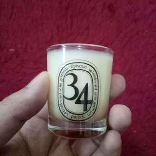 Diptique 34 Boulevard Sain Germain Candle