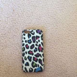 Multicolour Leopard Print iPhone 5/5s/SE Case