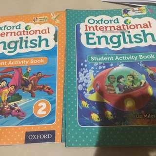 Oxford International English 1 And 2