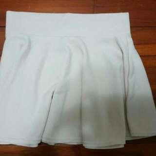 米白色針織短裙#轉轉來交換