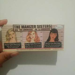 The Balm Manizer sisters trio
