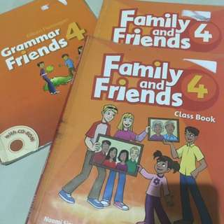 Family And friends Primary 4