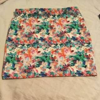 Zara Bodycon Mini Skirt